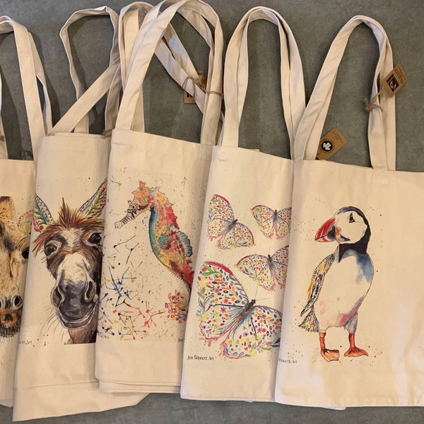 Large Eco Bags by Jen Winnett