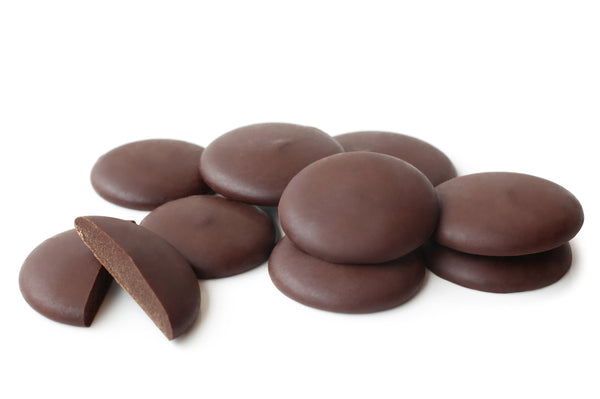 Organic Fairtrade Dark Chocolate Buttons - 200g