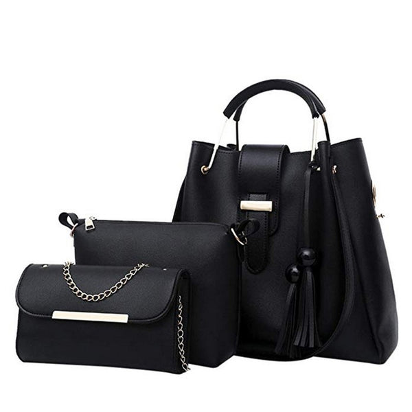 4pcs Woman Bag Set Fashion Female Purse and Handbag
