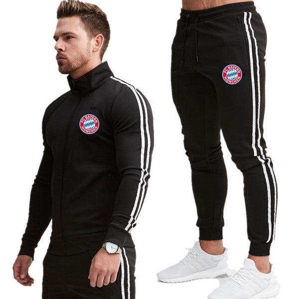 New Men Clothing Set Sportswear Hoodies Sweatshirts Sporting Sets
