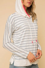 Load image into Gallery viewer, Stripe Color Hoodie