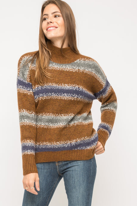 Brown/Navy Sweater