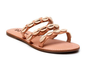 Matisse Natural Resort Shell Sandals
