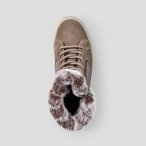Dubliner Leather Winter Sneaker - Stone