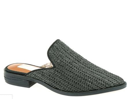 Black Woven Shoes