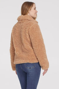 Tribal Fuzzy Teddy Jacket