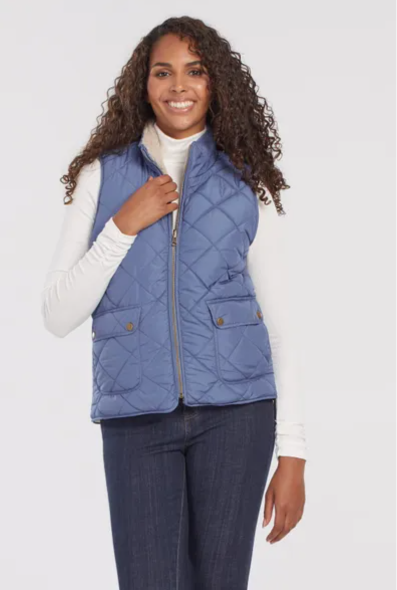 Tribal Reversible Sherpa Vest