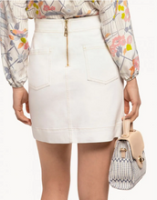 Load image into Gallery viewer, Spartina Isla Denim Skirt - Pearl White