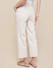Load image into Gallery viewer, Spartina Londyn Wide Leg Crop Jeans - Peony Pink