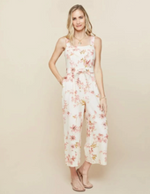 Load image into Gallery viewer, Spartina Garden House Floral Arley Jumpsuit