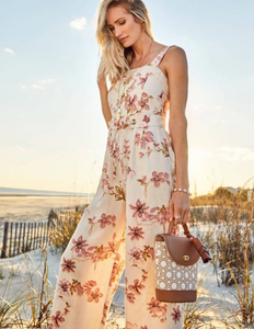 Spartina Garden House Floral Arley Jumpsuit