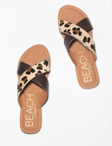 Matisse Pebble Cow-hair Sandals