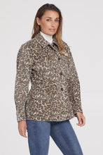 Load image into Gallery viewer, Tribal Oversized Cheetah Jacket
