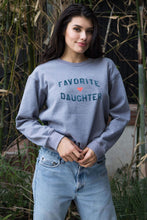 "Load image into Gallery viewer, Sub_Urban Riot ""Favorite Daughter"" Crew neck Sweatshirt"