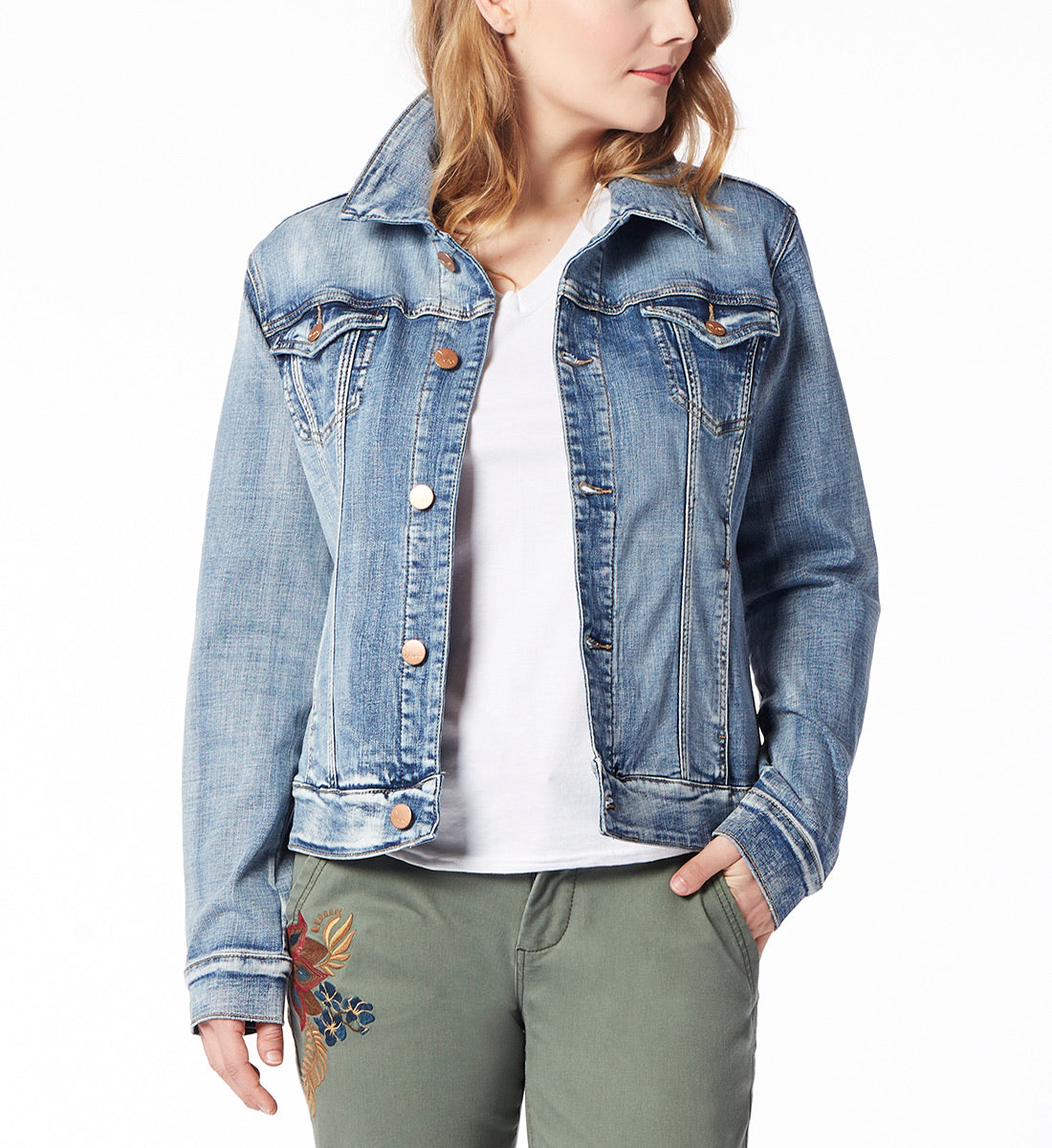 JAG Light Wash Jean Jacket