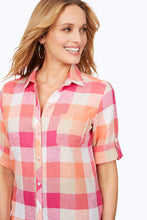Load image into Gallery viewer, Foxcroft Easy-Care Linen Shirt