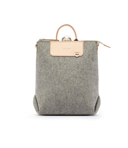 Graf Lantz -  MINI Felt & Leather Backpack/Purse