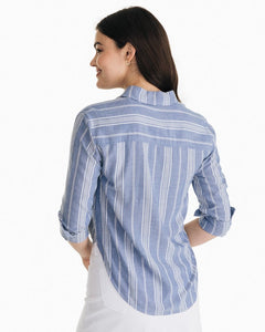 Southern Tide Madelyn Tie Front Shirt