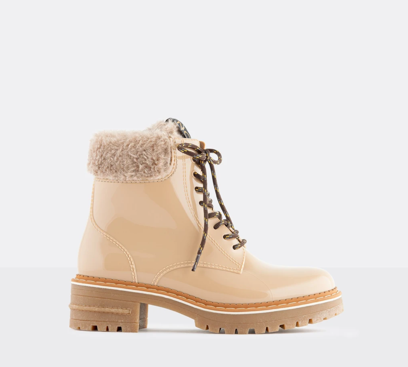 Lemon Jelly Oleta Boots -Sand