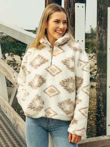 Thread and Supply Walking Poetry Pullover
