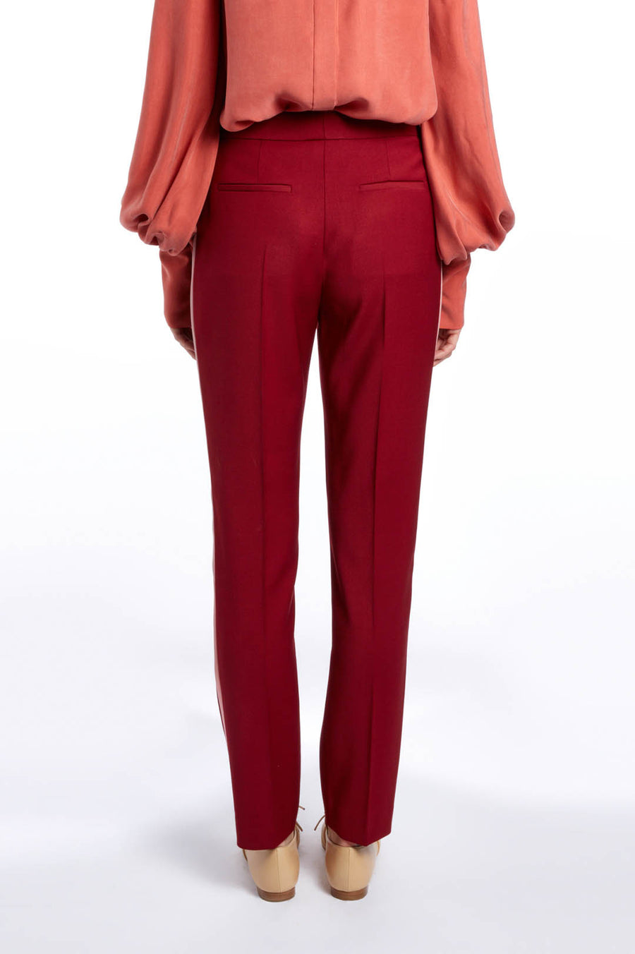 Amaranthus and Rose Colwyn Trouser