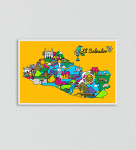El Salvador by Rodolfo Diaz