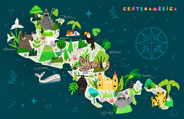 Central America by Alejandra Marroquin and Carlos Violante