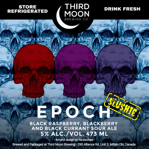 Fruited Slushie Sour - Epoch (Black Raspberry, Blackberry, Black Currant)