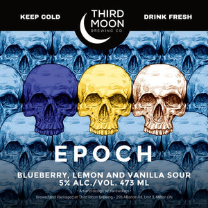 Fruited Sour - Epoch (Blueberry, Lemon, Vanilla) tall can