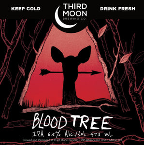 "IPA - 4-pk of ""Blood Tree"" tall cans"