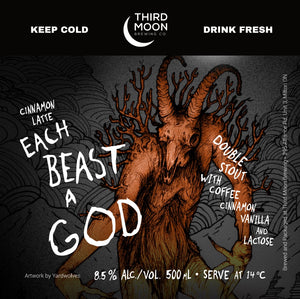 "Coffee Stout - Cinnamon Latte ""Each Beast A God"""