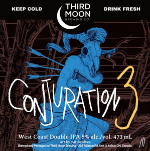 "Double IPA - 4-pk of ""Conjuration 3"" tall cans"
