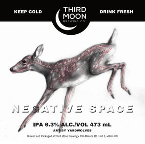 "IPA - 4-pk of ""Negative Space"" tall cans"