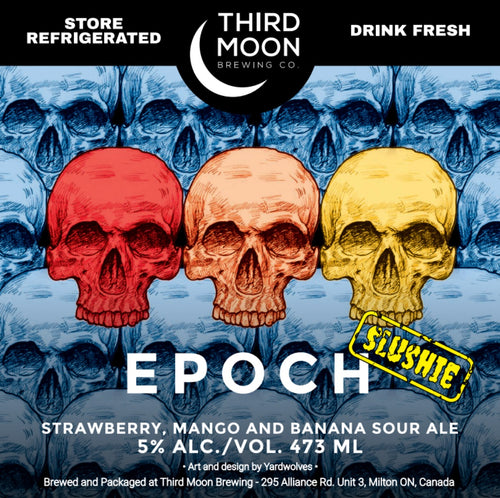 Fruited Slushie Sour - Epoch (Strawberry, Mango, Banana)