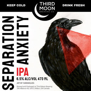 "IPA - 4-pk of ""Separation Anxiety"" tall cans"