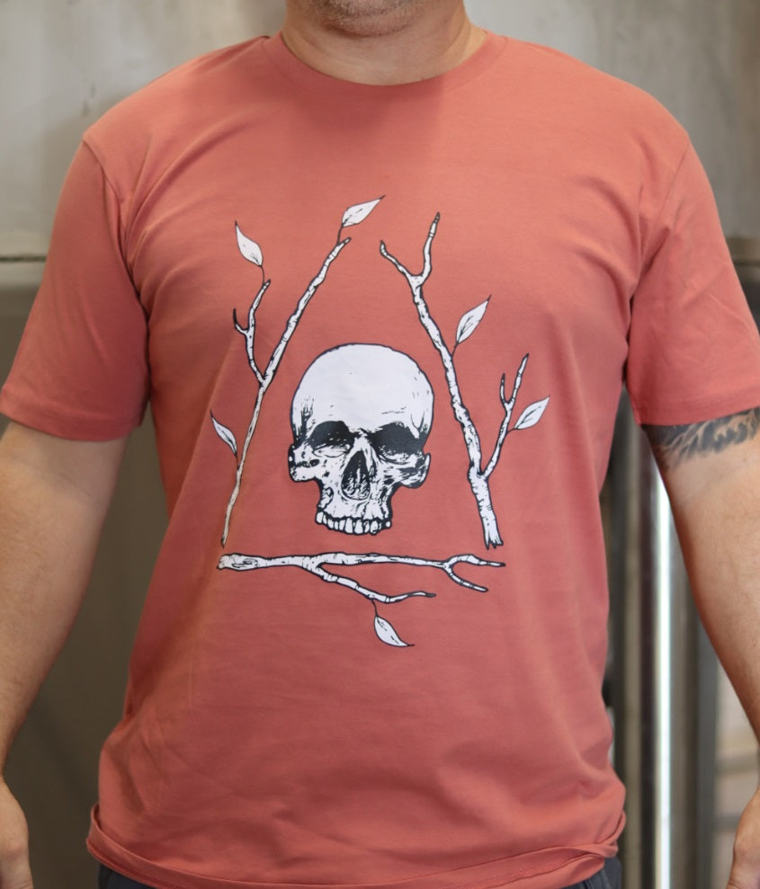 Coral Bone Tree T-shirt