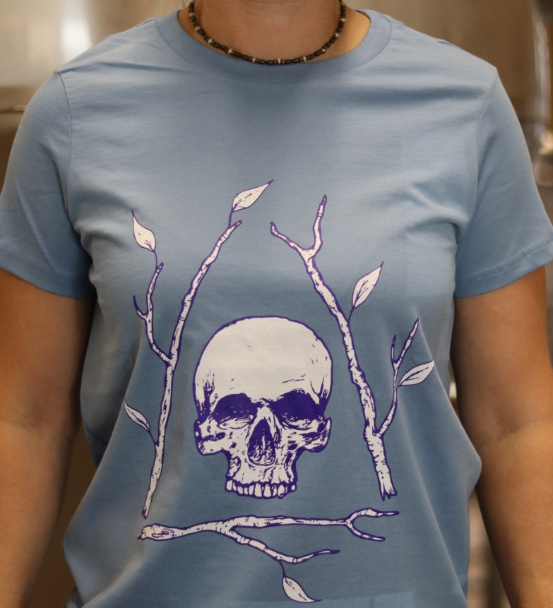 Ladies' Carolina Blue Bone Tree T-shirt