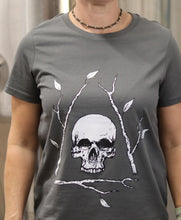 Load image into Gallery viewer, Dark Grey Bone Tree T-shirt