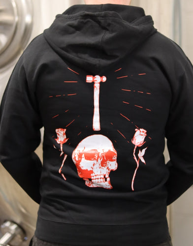 Black Love Lies Bleeding Zip Hoodie