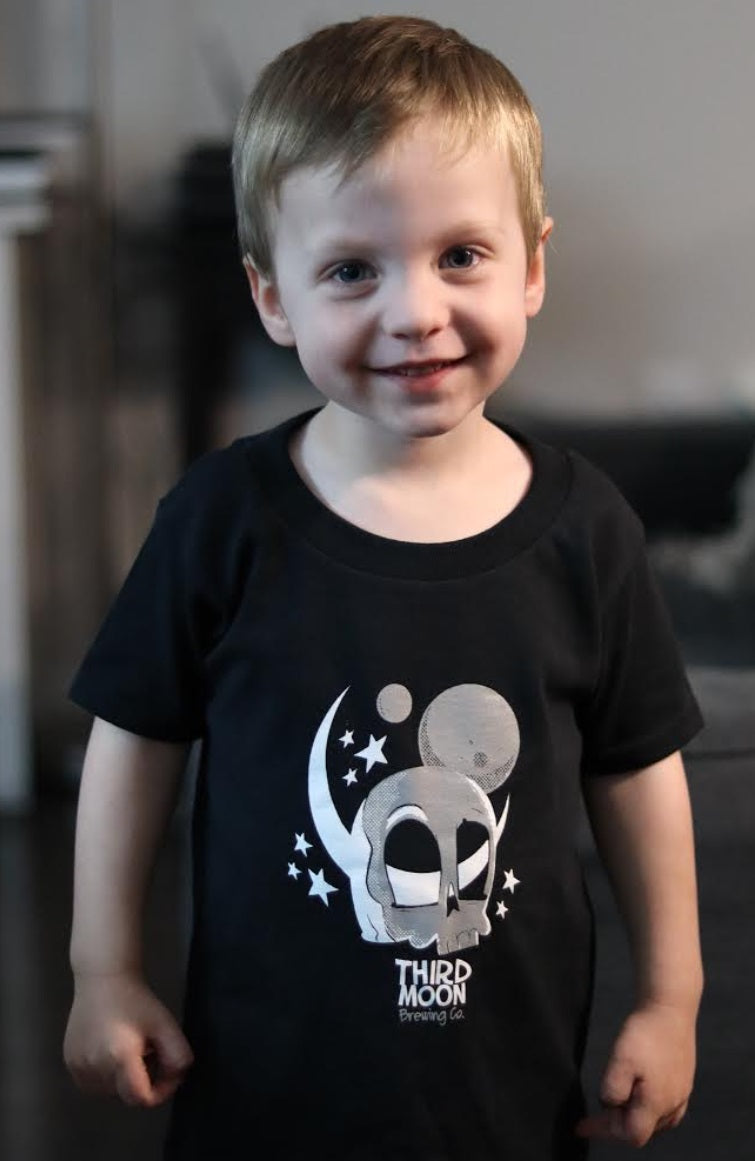 Kid's Cartoon Skull T-Shirt