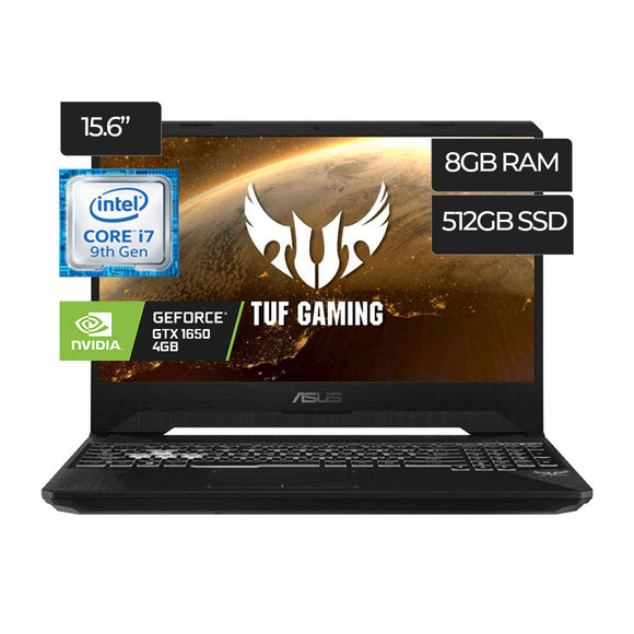 Laptop Asus Tuf Fx505Gt-Ab73 Gaming Intel Core i7 512GB 8GB - PAPAYAPERU.COM