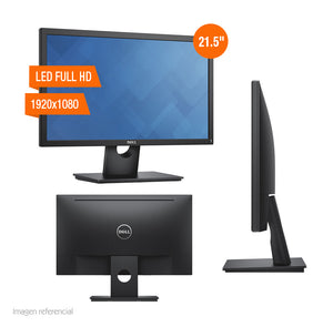 "Monitor Dell E2216H, 21.5"", LED Full HD, 1920x1080, DP / VGA - PAPAYAPERU.COM"