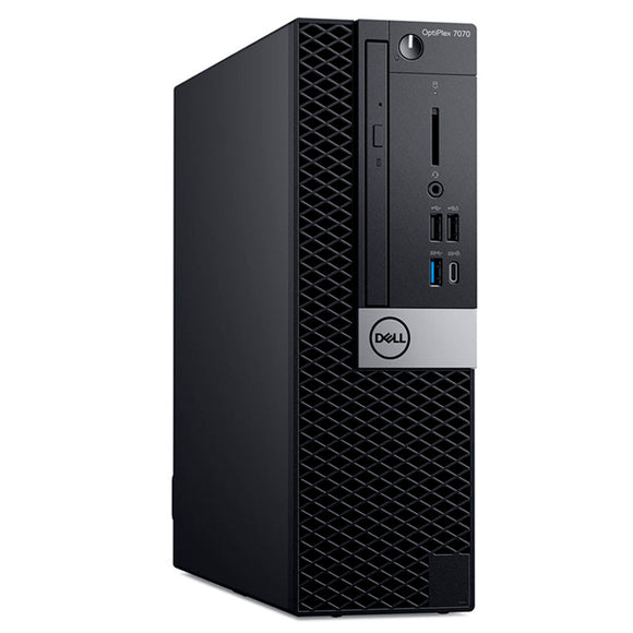COMPUTADORA DELL OPTIPLEX 7070 SFF, INTEL CORE I7-8700 3.20 GHZ, 8GB DDR4, 1TB SATA. - PAPAYAPERU.COM