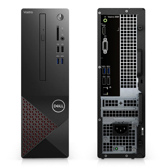 COMPUTADORA DELL VOSTRO 3681, INTEL CORE I3-10100 3.60 / 4.30GHZ, 4GB DDR4, 1TB SATA.