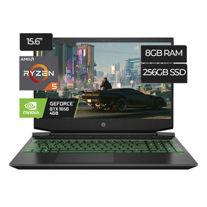 Laptop Hp Pavilion 15-Ec1073Dx Gaming AMD Ryzen 5 256GB 8GB (EC1073DX) - PAPAYAPERU.COM