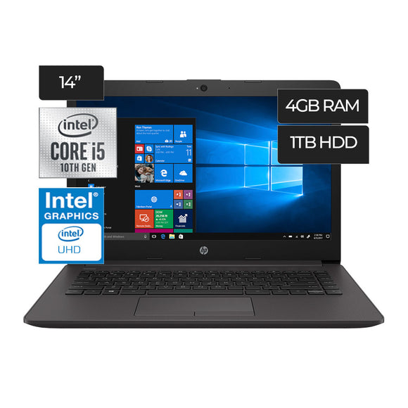 Laptop HP 240 G7 Intel Core i5 1TB 4GB - PAPAYAPERU.COM