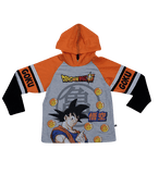 POLO MODA DRAGON BALL MANGA LARGA - DRAGON BALL ORIGINAL - PAPAYAPERU.COM