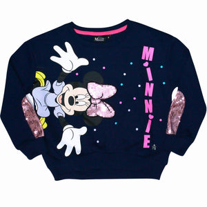 POLERA FRENCH MINNIE MOUSE  AZUL - DISNEY ORIGINAL - PAPAYAPERU.COM