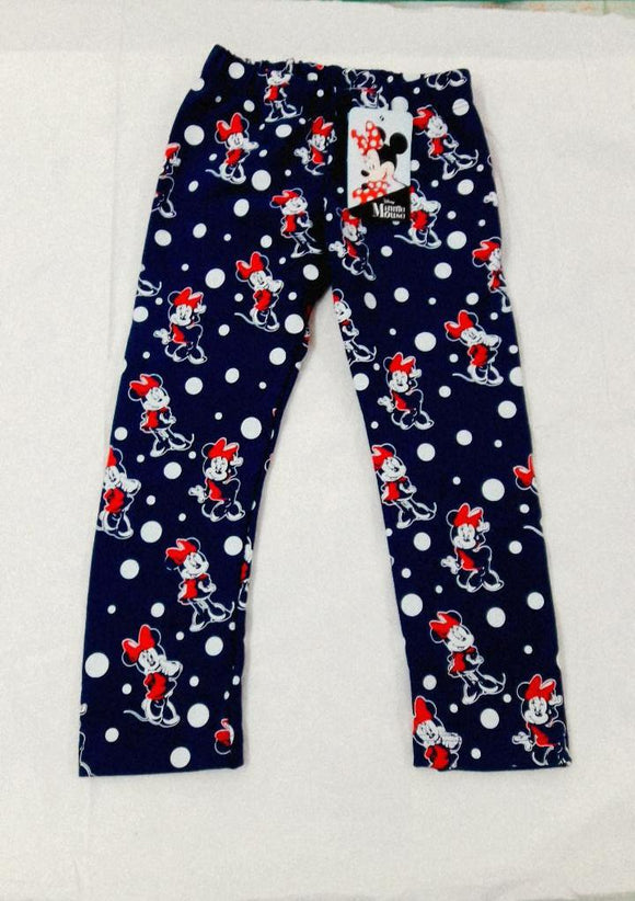 LEGGIN FRENCH MINNIE MOUSE AZUL - DISNEY ORIGINAL - PAPAYAPERU.COM