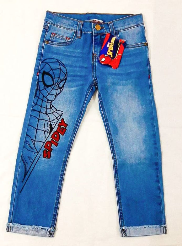 PANTALON DENIM SPIDERMAN - SPIDERMAN ORIGINAL - PAPAYAPERU.COM